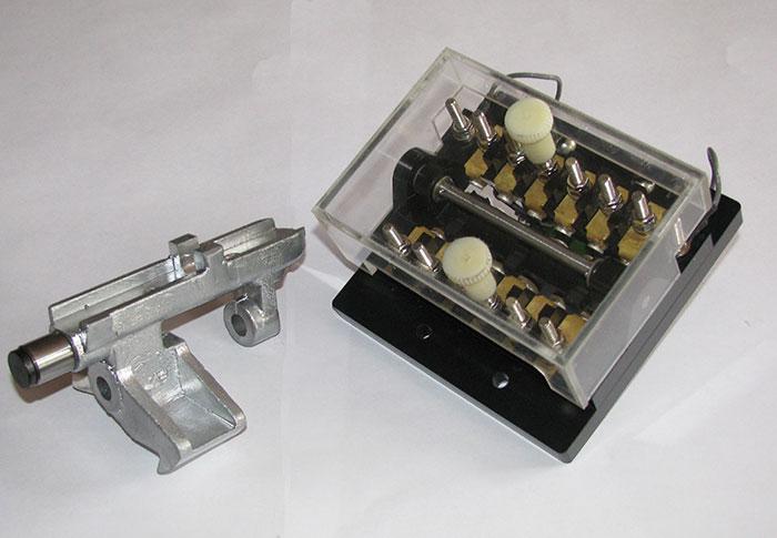 Контактор модульного типа для автопереключателя электроприводов стрелочных серии СП